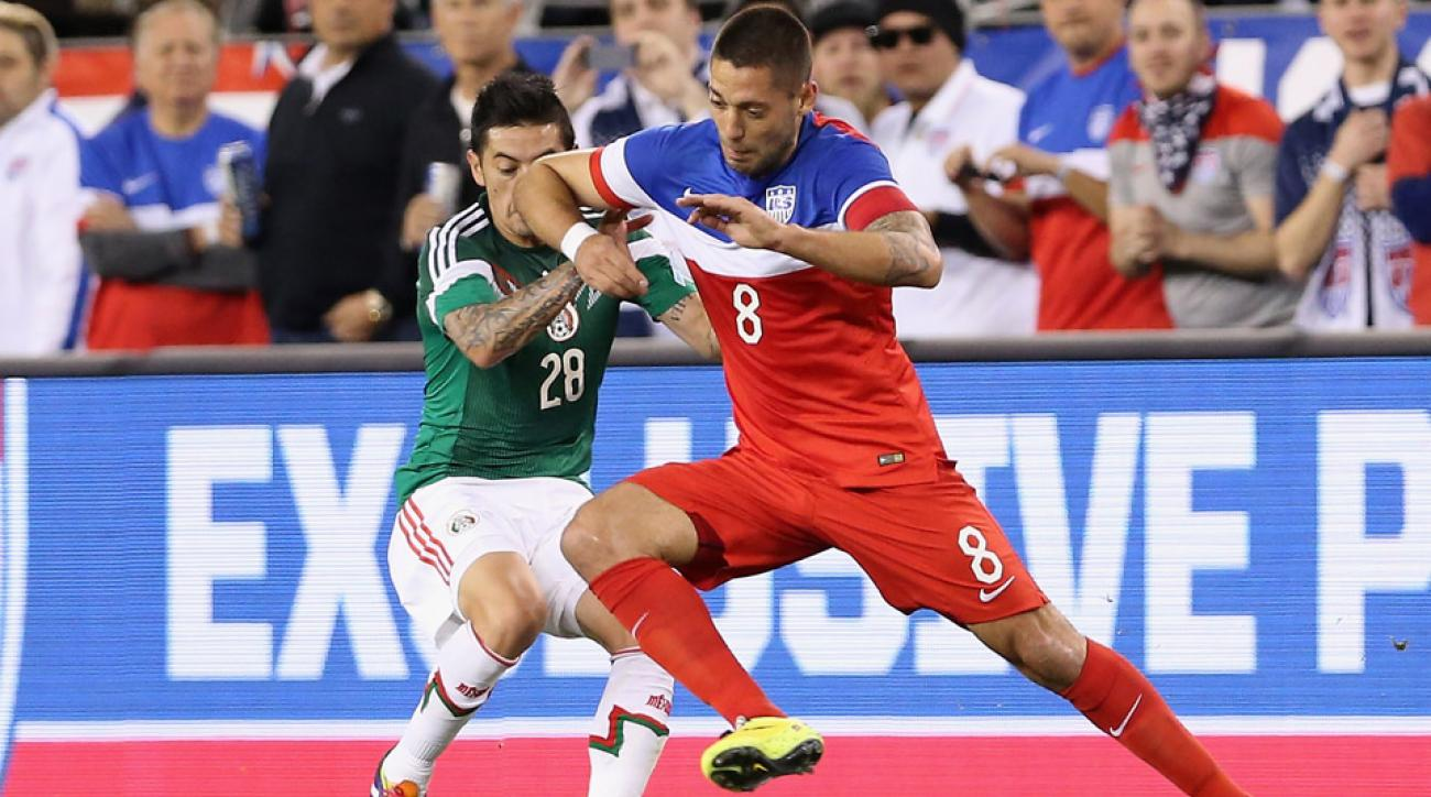 clint dempsey usa mexico playoff rose bowl concacaf confederations cup gold