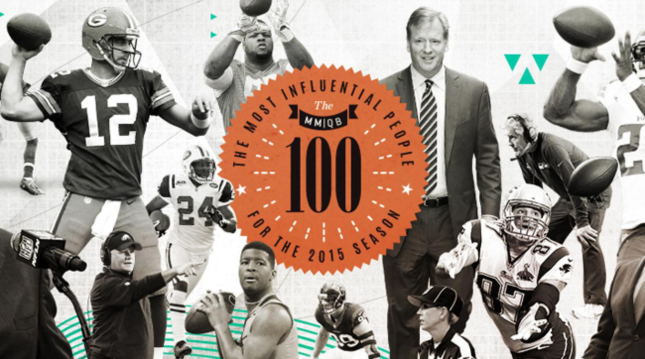 Countdown of the most influential people for the 2015 NFL season
