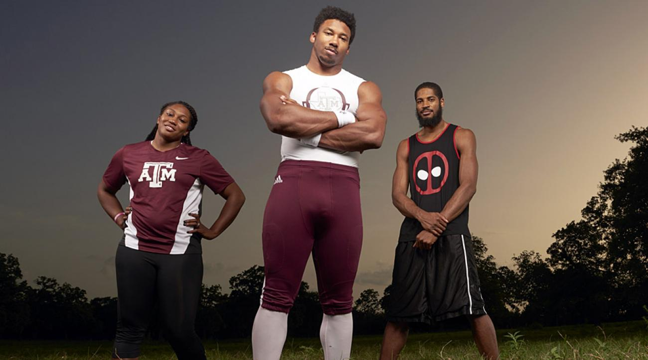 Texas A&M DE Myles Garrett's fueled by examples from his ...