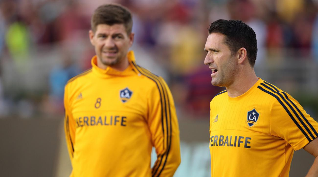 Steven Gerrard and Robbie Keane have withdrawn from the MLS All-Star Game