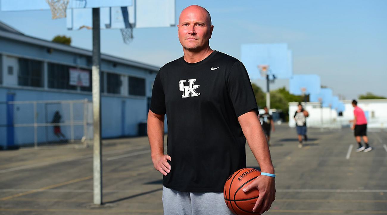 Former Kentucky guard Rex Chapman looks to bounce back from adversity