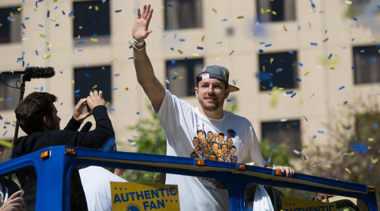golden state warriors david lee goodbye lunch