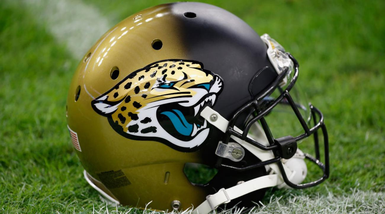 helmet jaguars jacksonville nfl helmets jaguar stadium schedule houston team preseason football uniforms texans yardbarker field game getty times change