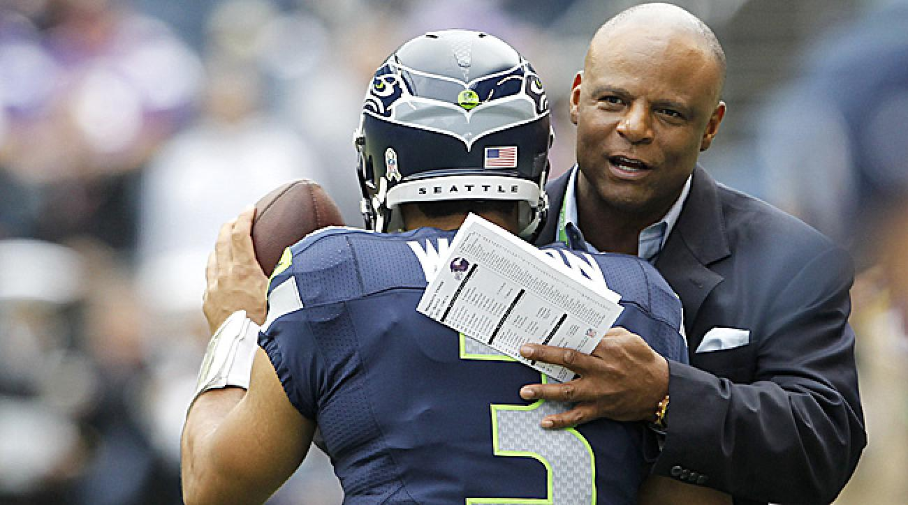Moon and Wilson have become close since Wilson arrived in Seattle. (Elaine Thompson/AP)