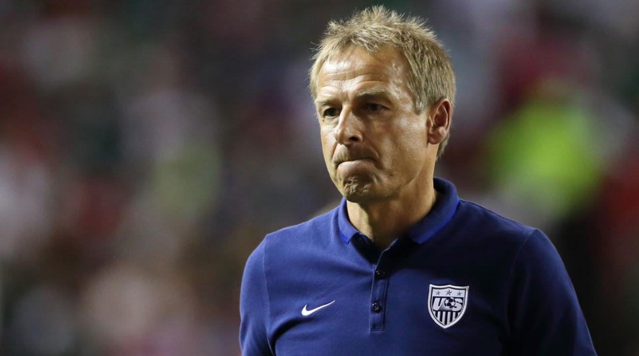 Jurgen Klinsmann is under fire for the USA's failure to win the Gold Cup
