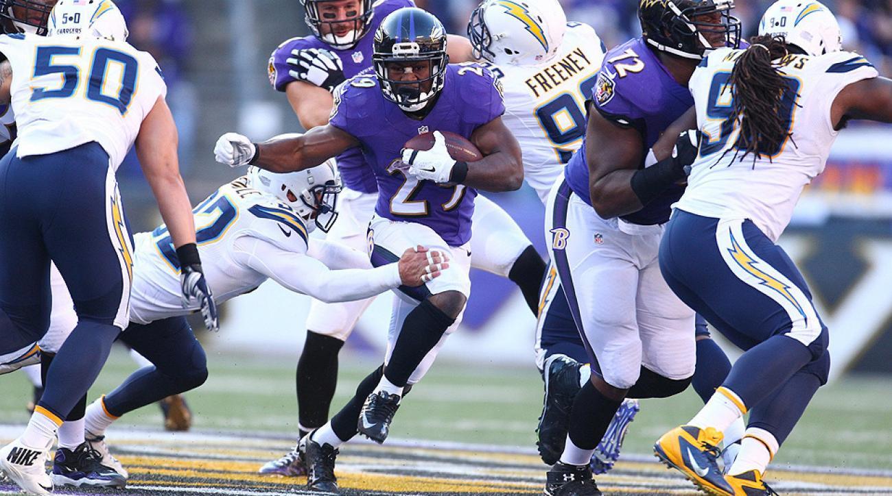 Ravens running back Justin Forsett grades game film from breakout 2014