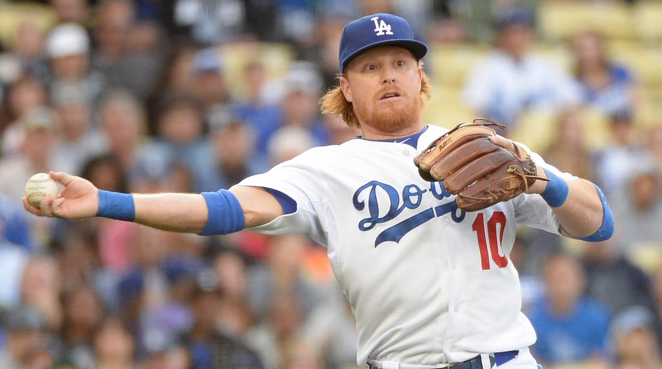 los angeles dodgers justin turner hospital released