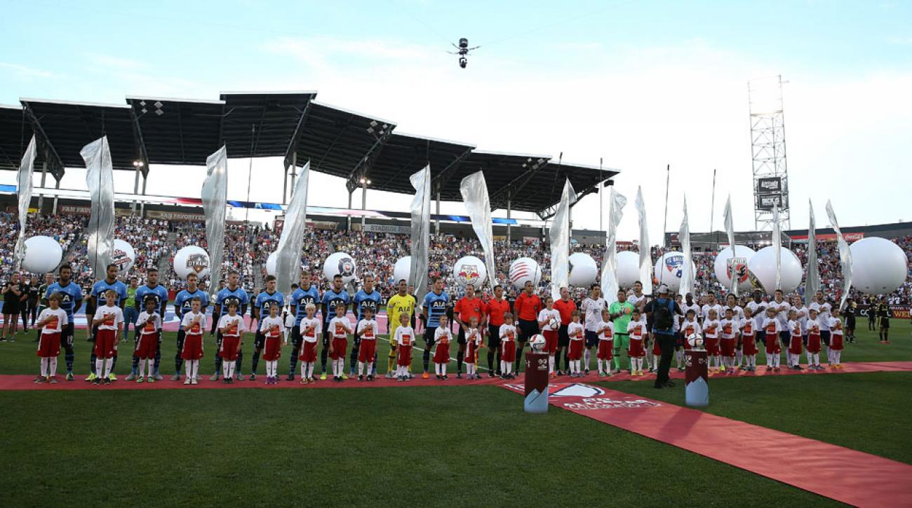 MLS takes on Tottenham at the league's 2015 All-Star Game