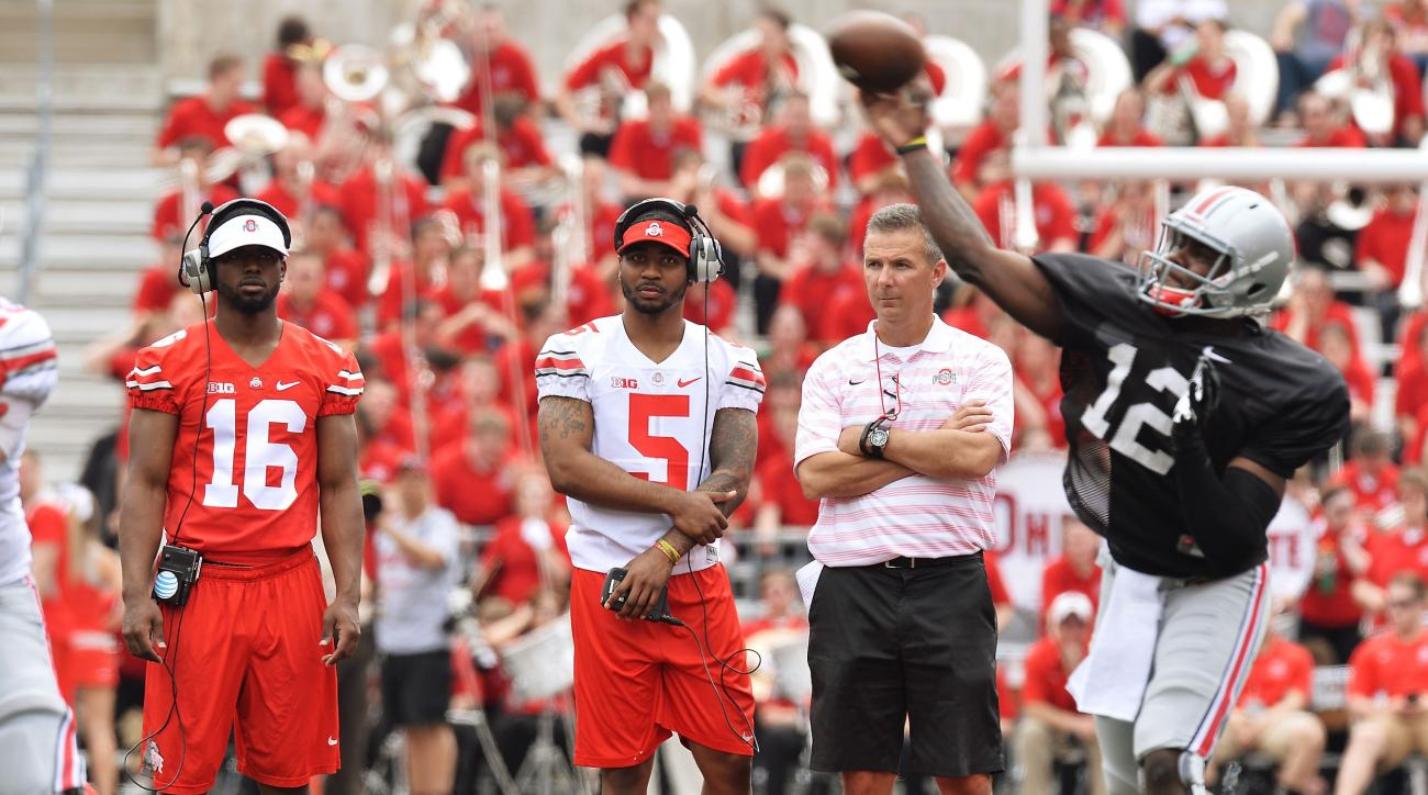 urban meyer cardale jones ohio state qb