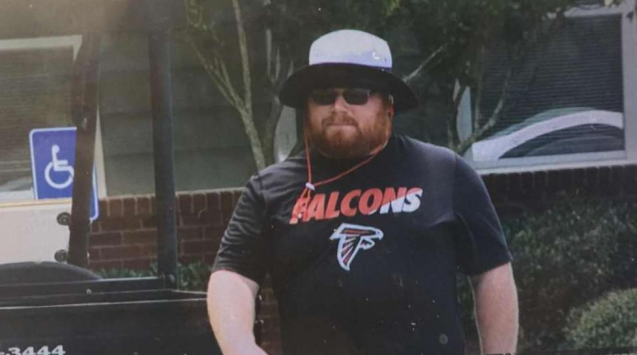 florida state ball boy red lightning reports to falcons camp si com