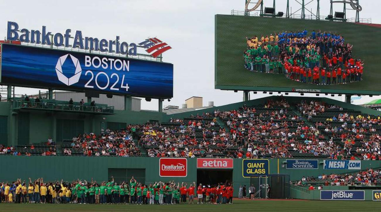 Boston Olympic bid explained by Seth Meyers