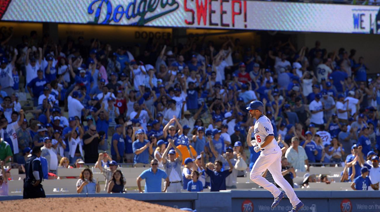 dodgers angels andre ethier walk-off home run video