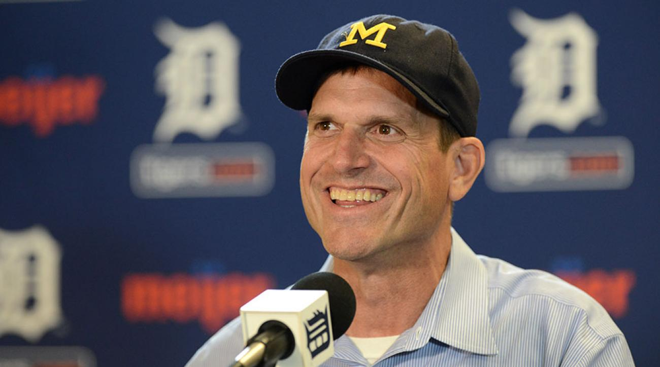 Michigan Jim Harbaugh Nicki Minaj Twitter