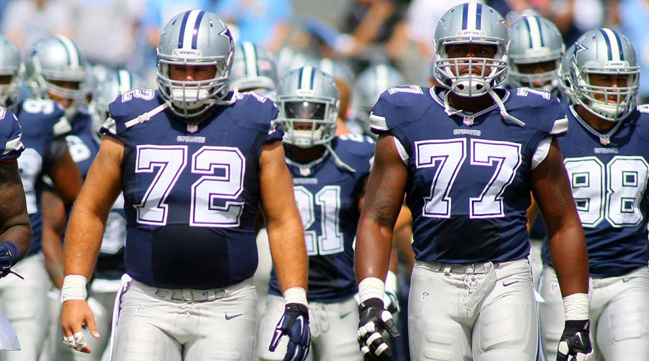 The NFL's top 10 offensive lines: Cowboys, Ravens, Browns and more