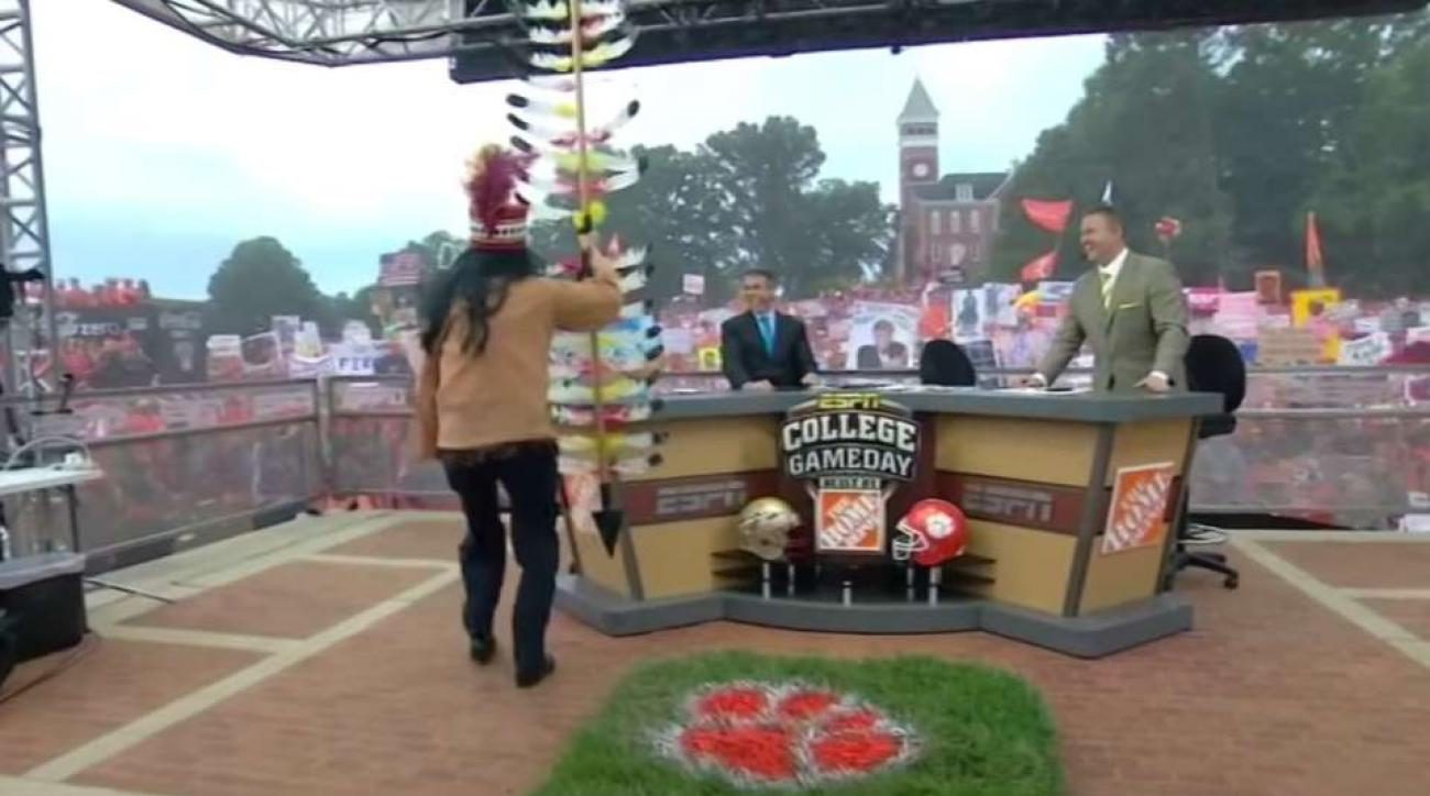 Florida State College Game Day Lee Corso Bill Murray