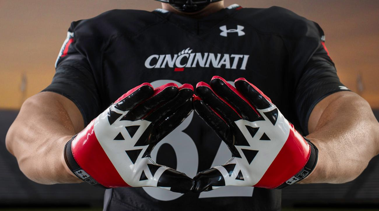 Cincinnati football Under Armour new uniforms