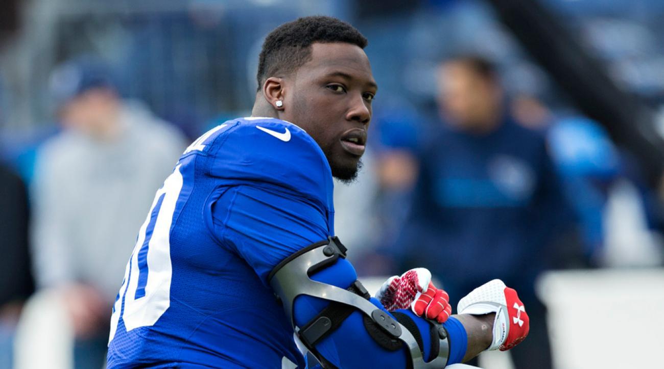 New York Giants Jason Pierre Paul Jerry Reese