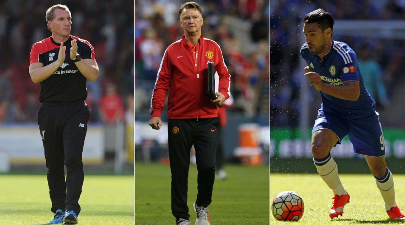 Brendan Rodgers, Louis van Gaal, Radamel Falcao and the other people of interest entering the EPL season