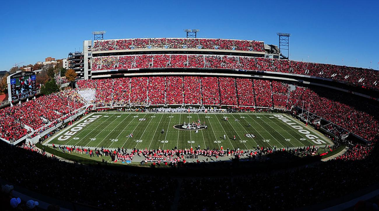 Georgia football schedule 2015 opponents