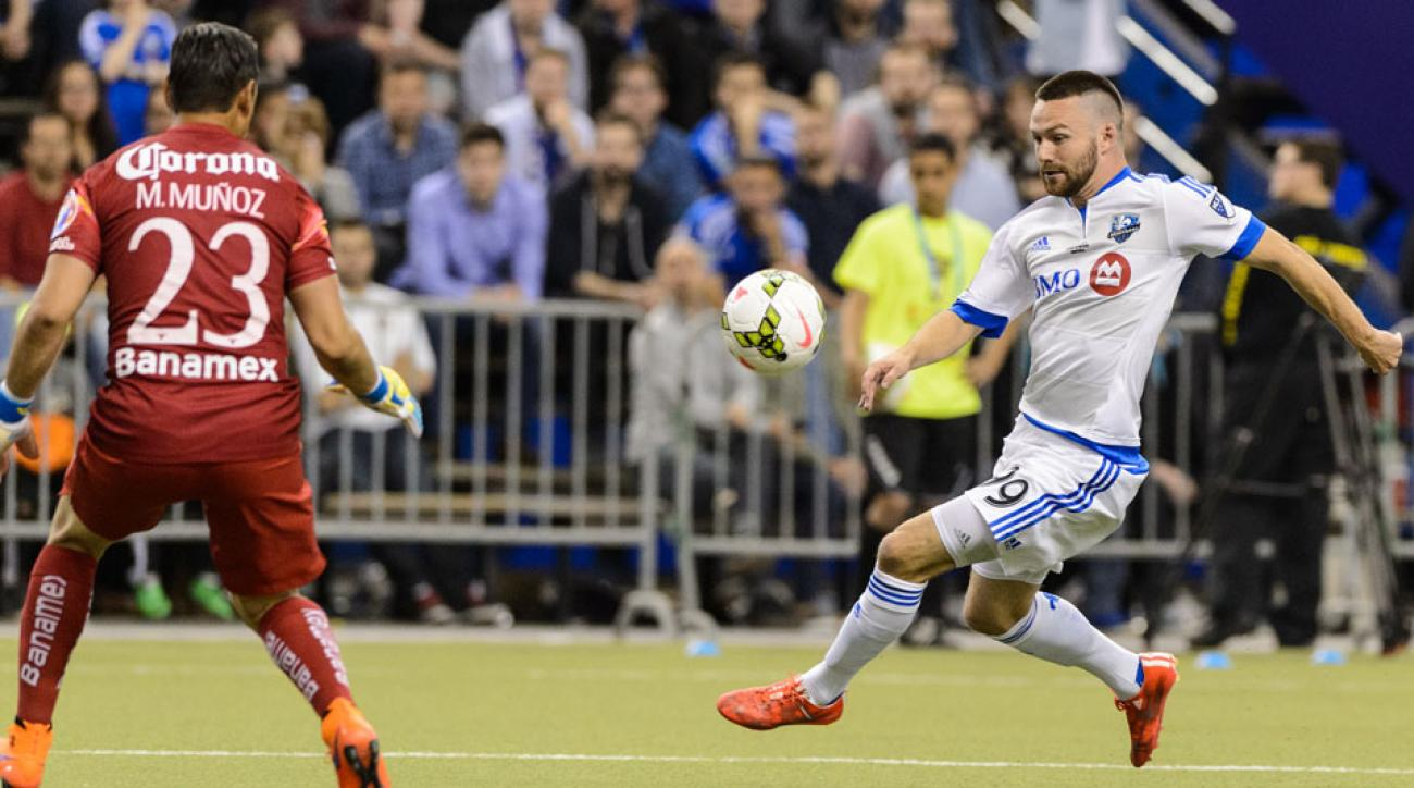 Jack McInerney is on his way to the Columbus Crew from the Montreal Impact