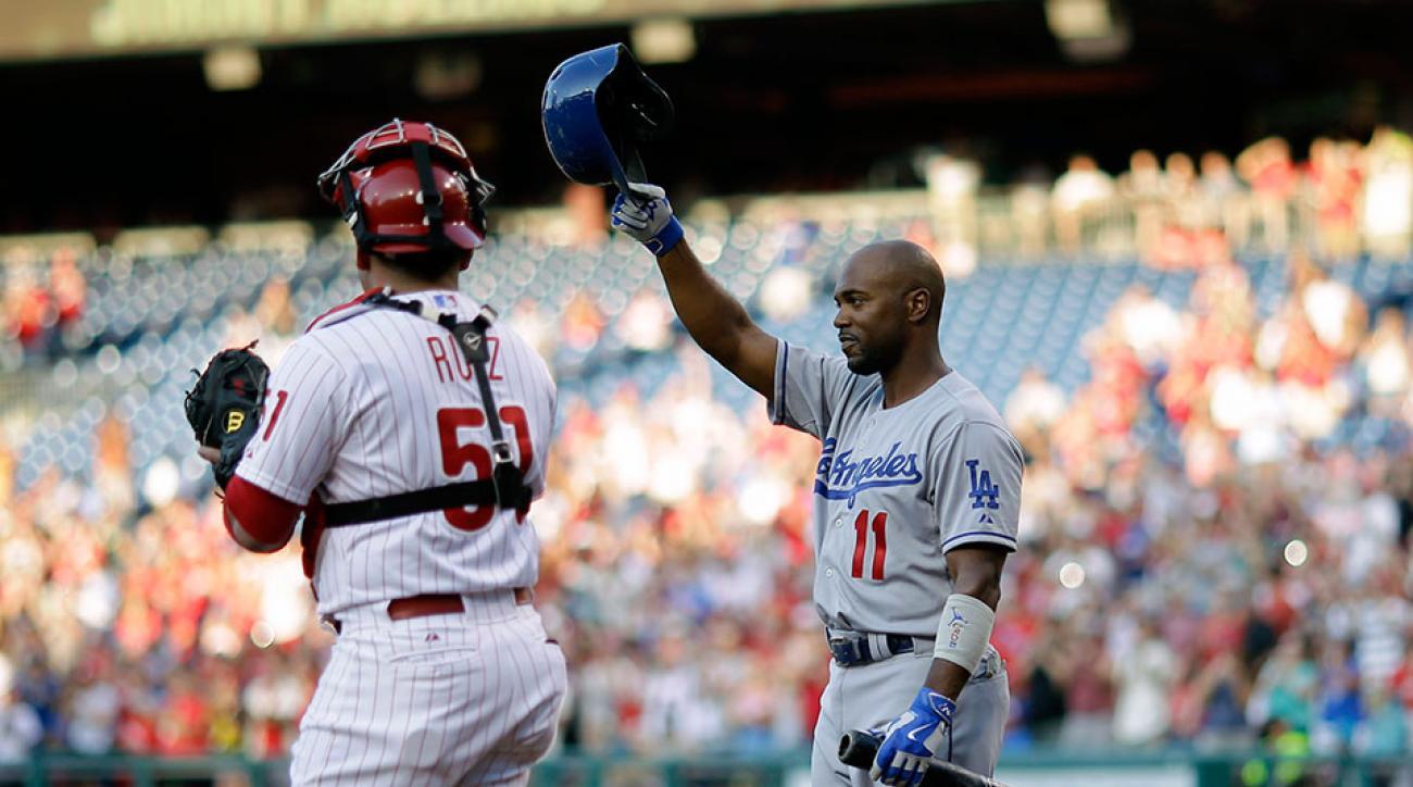 Dodgers Jimmy Rollins return Philadephia cheers