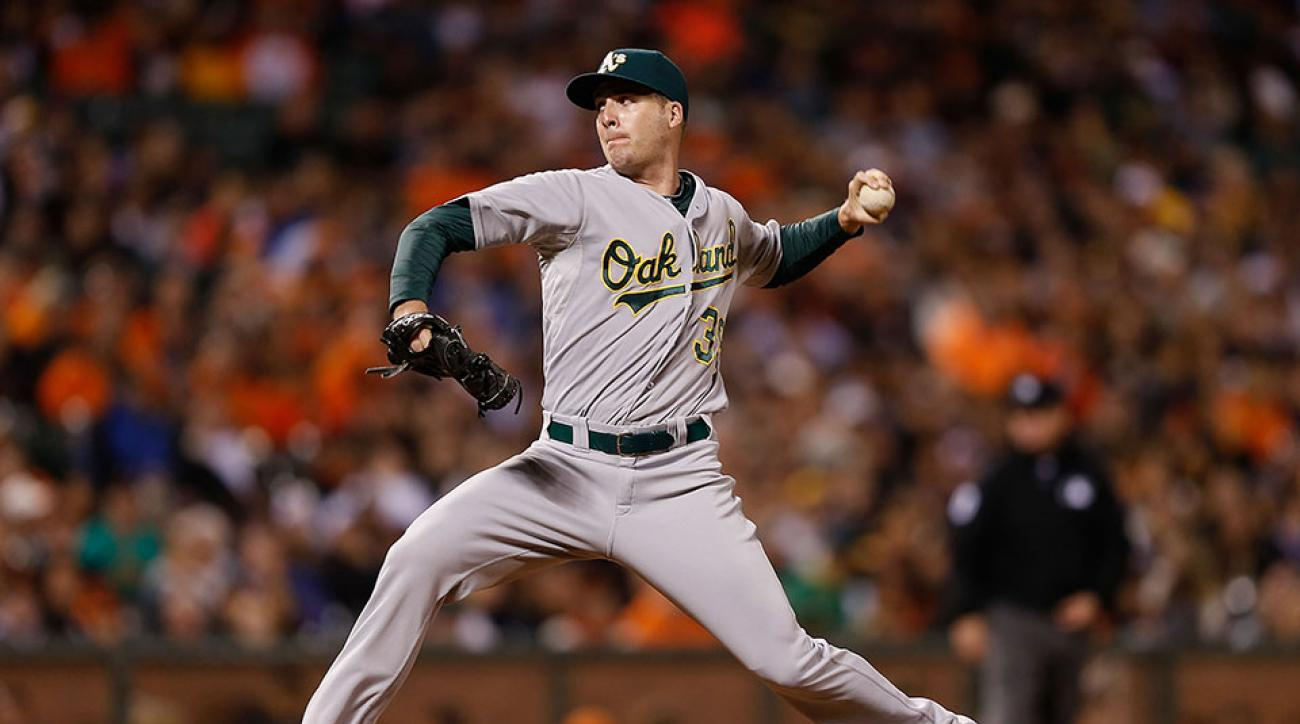 Eric O'Flaherty trade Mets Athletics