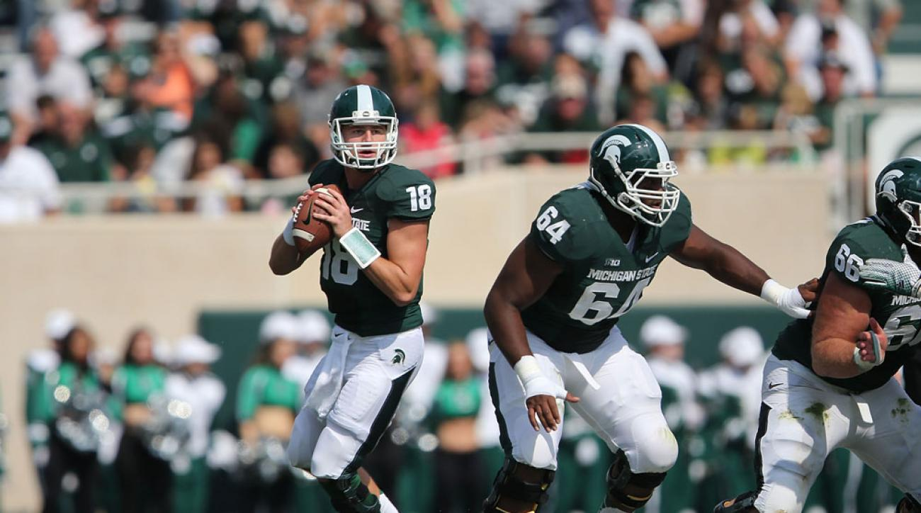 michigan state football connor cook