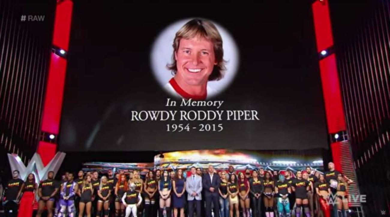 WWE RAW tribute to Rowdy Roddy Piper video