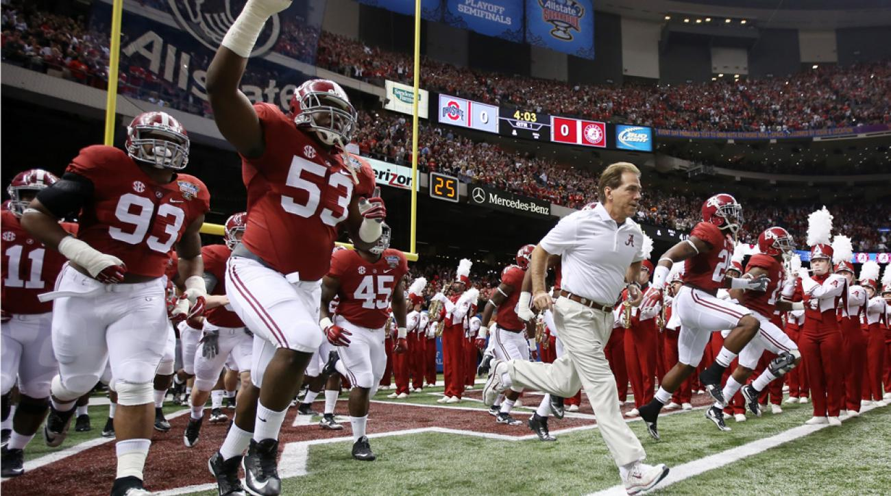 Alabama football schedule 2015