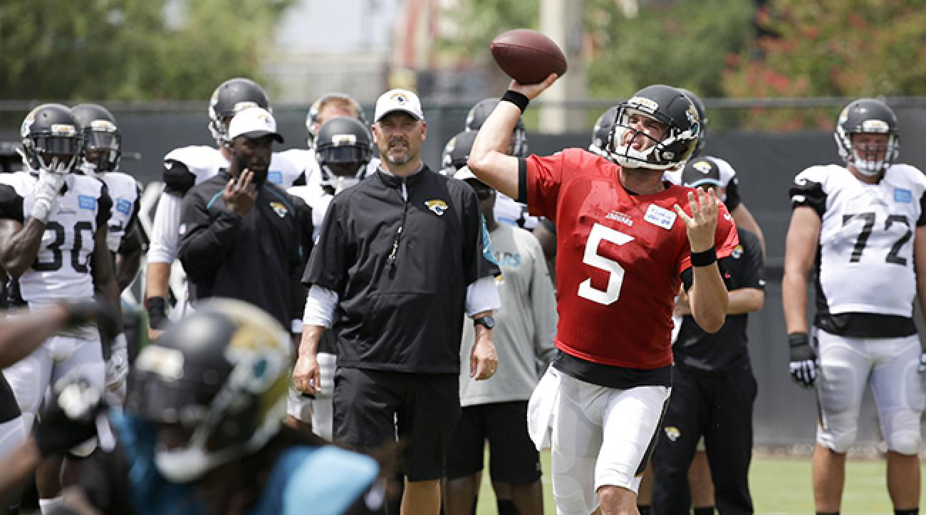 Blake Bortles will be under immense pressure this season to turn around a team that has gone 9-39 in the past three seasons.