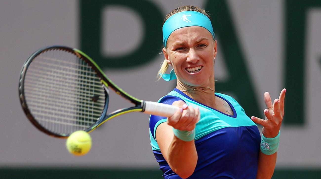Svetlana Kuznetsova pulled out of the Citi Open with an injury Wednesday night.