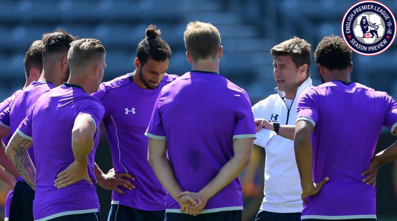 Mauricio Pochettino and Tottenham look to break through the EPL's top tier with a young squad.