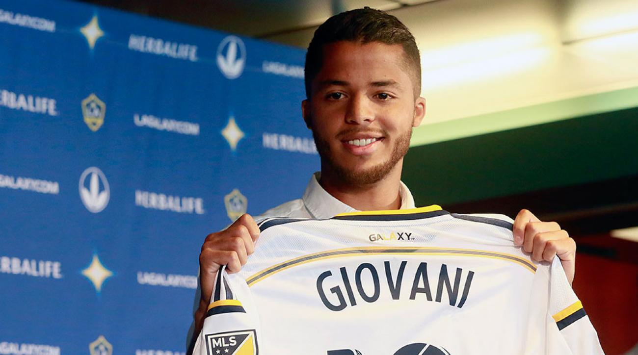 Giovani Dos Santos goal LA Galaxy debut