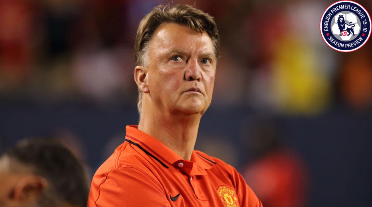 Louis van Gaal enters his second year at Manchester United