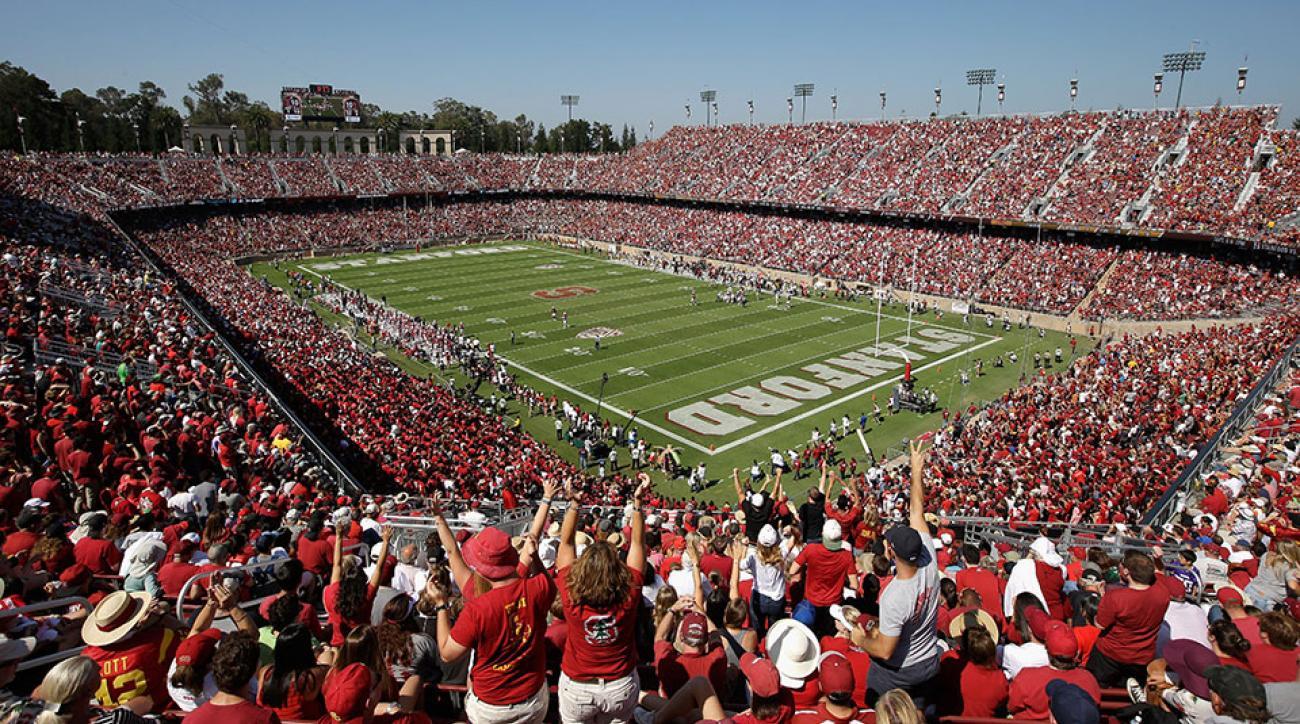Stanford football David Long commits