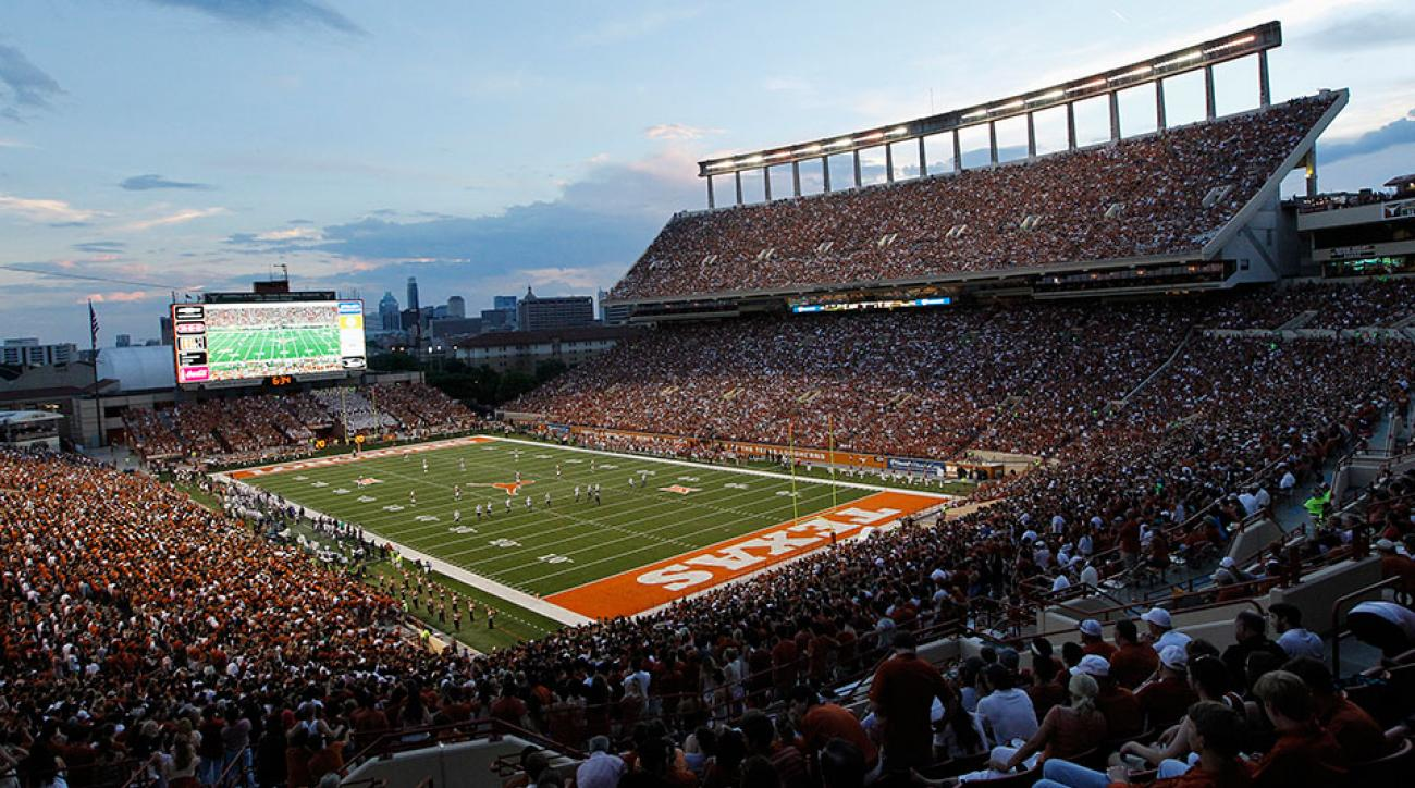 Texas football 2015 football schedule