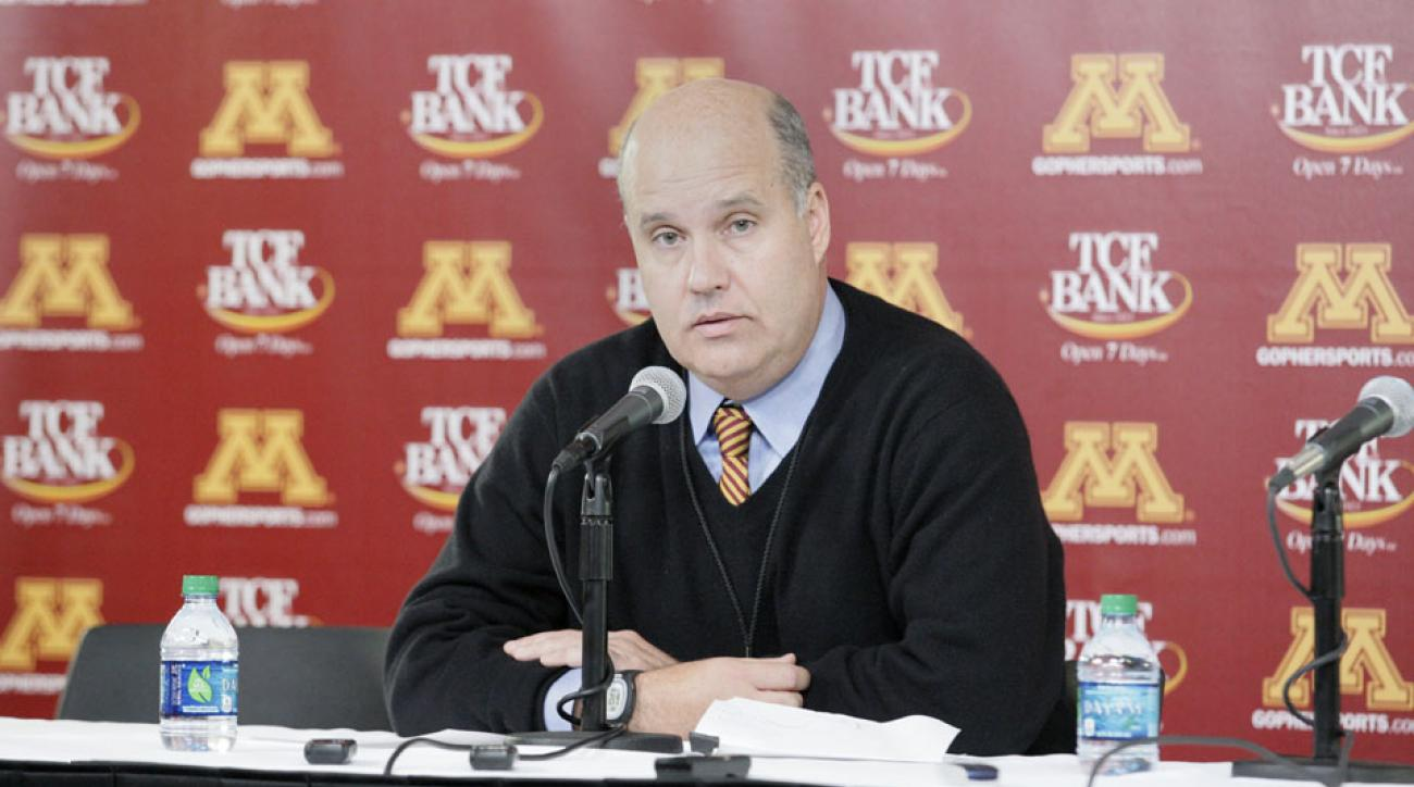 norwood teague minnesota golden gophers athletic director sexual harassment