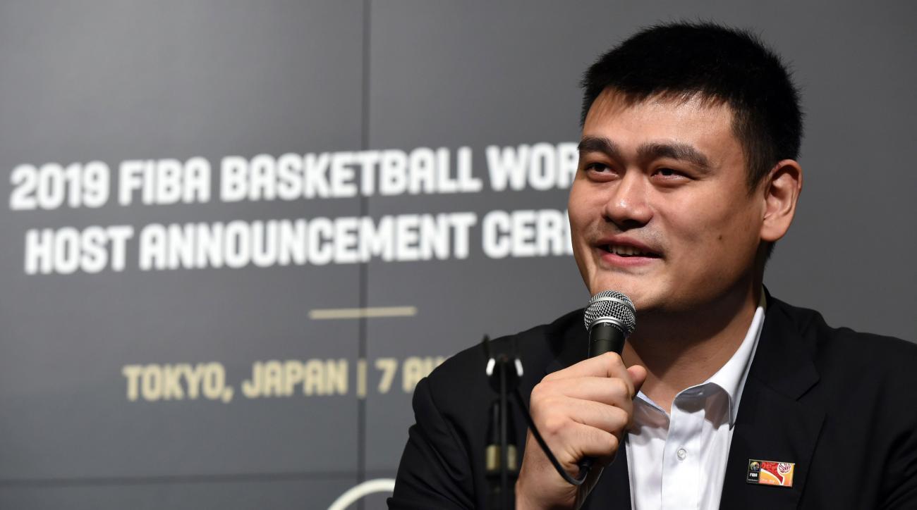 yao ming china fiba world cup 2019