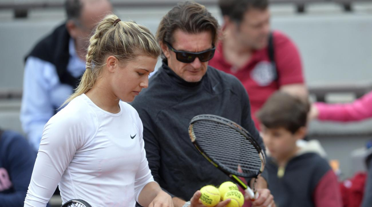 Eugenie Bouchard parts ways coach Sam Sumyk