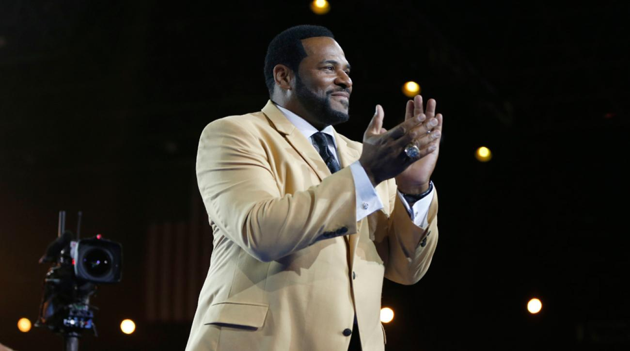 Jerome Bettis Hall of Fame induction Bob Evans