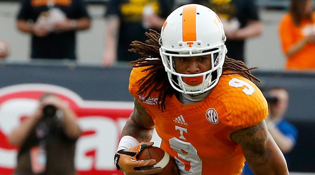 Tennessee football Von Pearson reinstated
