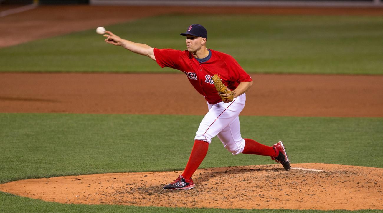 justin masterson boston red sox designated for assignment