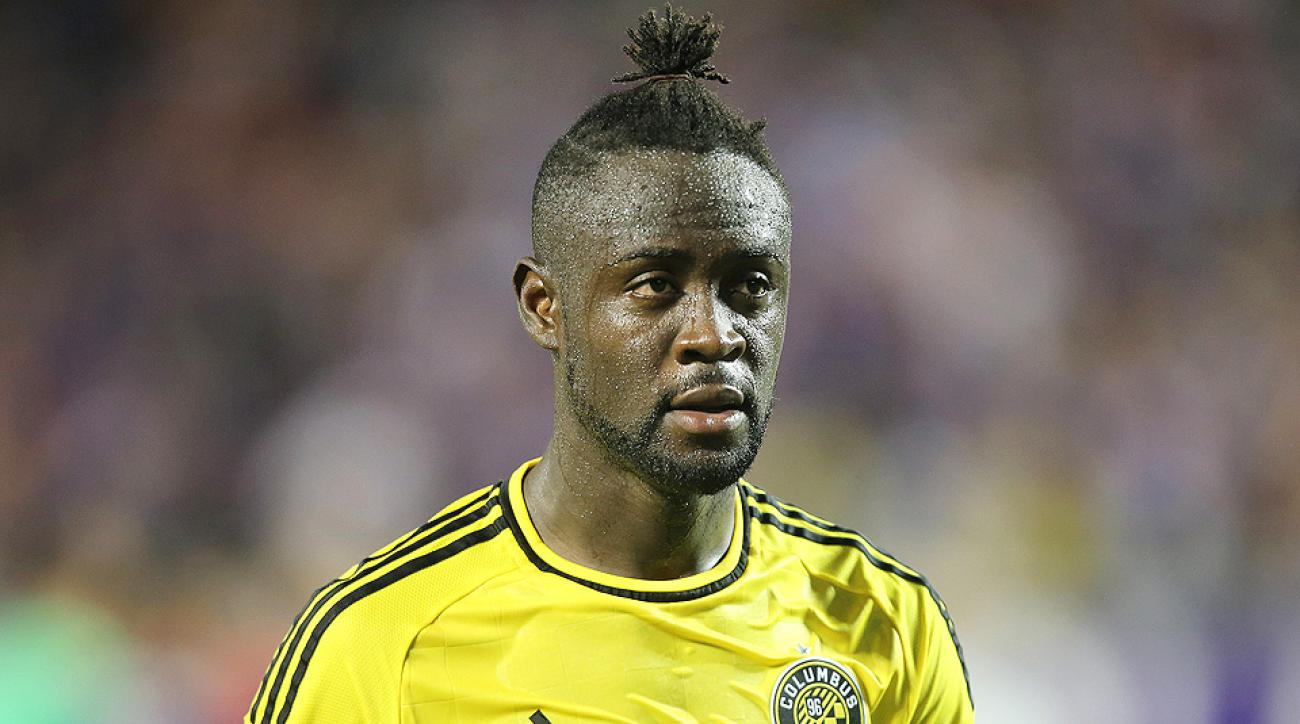 Kei Kamara scored two goals in the Crew's win over the Rapids.