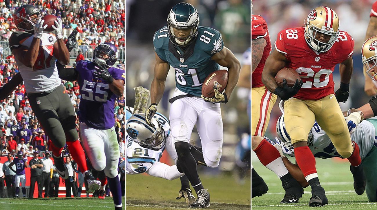 Fantasy football 2015 draft prep: Carlos Hyde, Jordan Matthews, Austin Sefarian-Jenkins