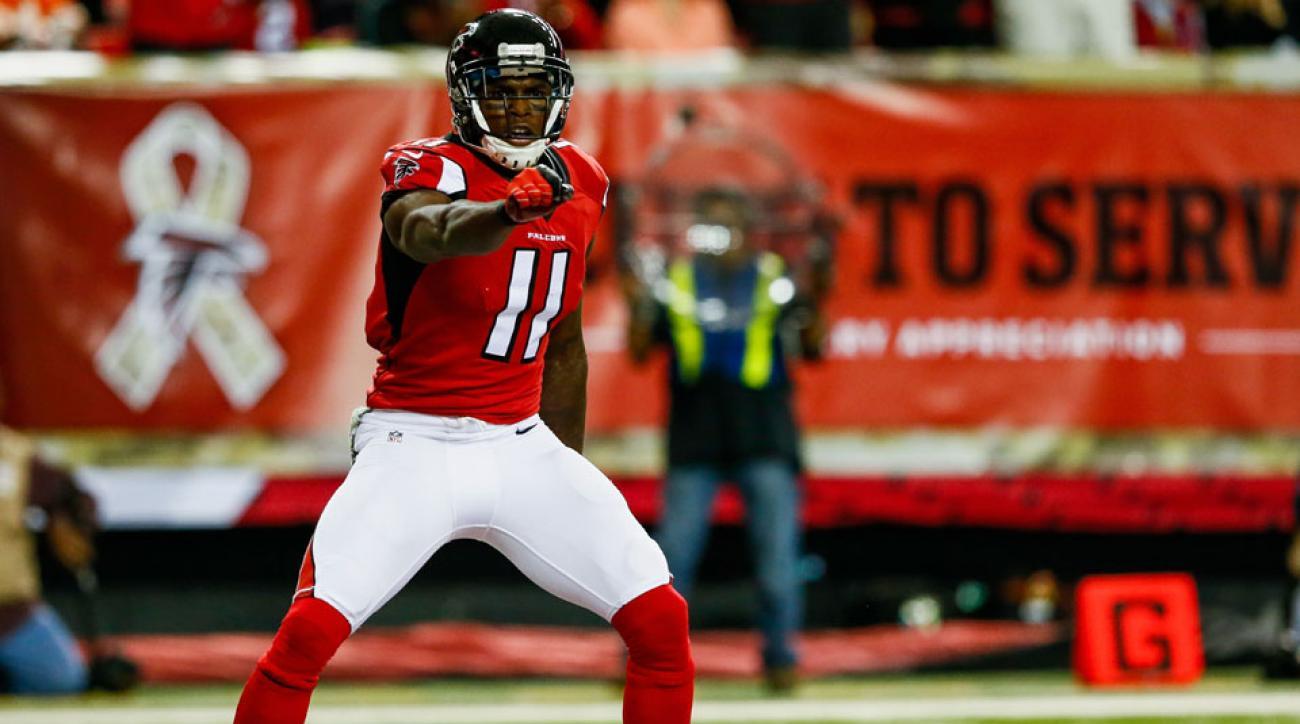 Julio Jones Atlanta Falcons WR Signs Five Year Contract Extension