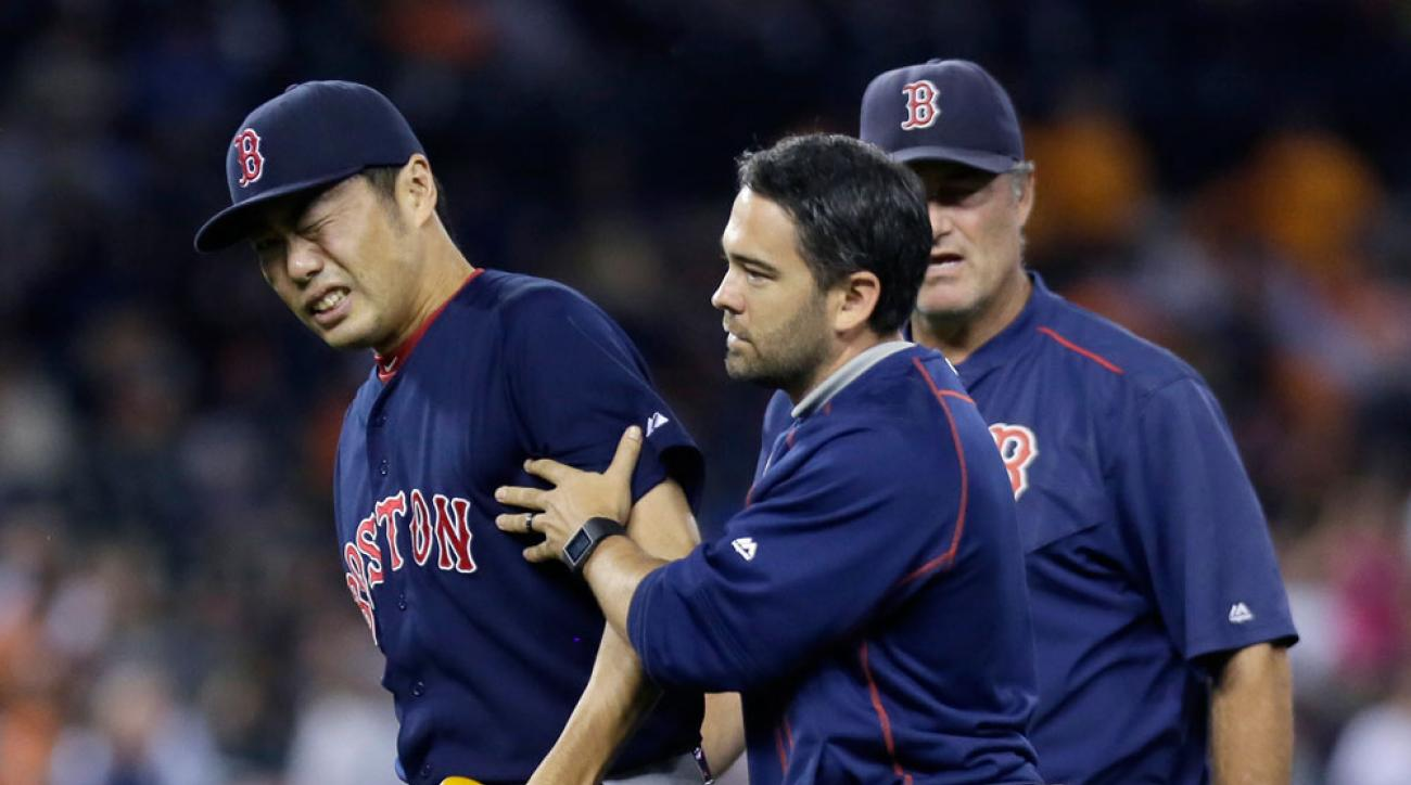 boston red sox koji uehara injury out for season