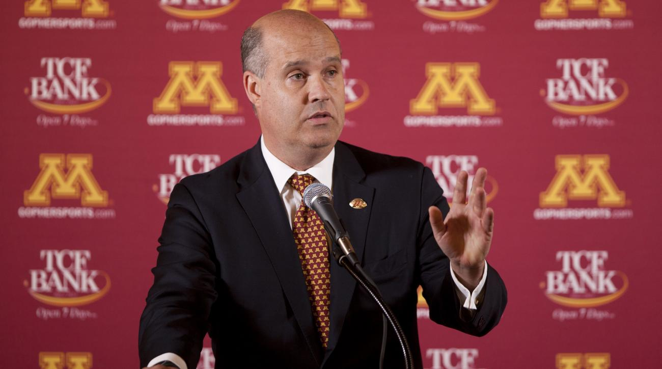 norwood teague university of minnesota athletic director harrasment complaints