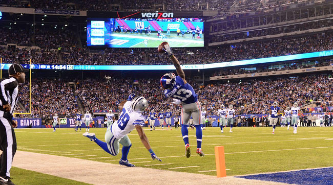 Odell Beckham Jr. New York Giants.