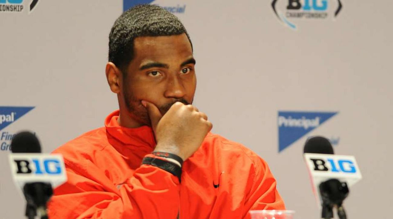 Braxton Miller is being followed by a video drone