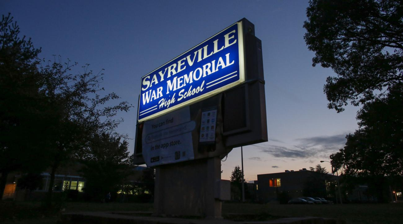 Sayreville football hazing scandal charges